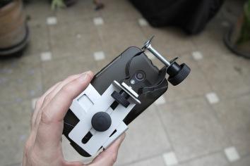 Proyección Ocular - Adaptador Celular.