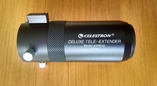 1. Celestron tele-extender.
