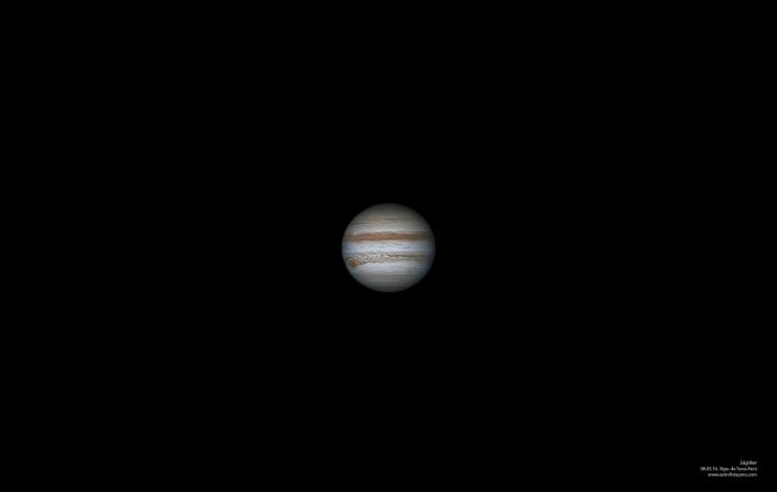 Júpiter desde Stgo. de Tuna-Perú