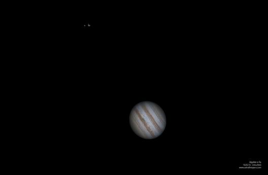 Júpiter desde Lima, Perú