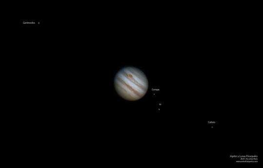 Júpiter el 20.01.16, Lima-Perú