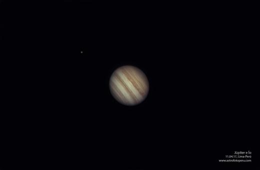 Júpiter e Ío - 11.04.17 - Lima, Perú
