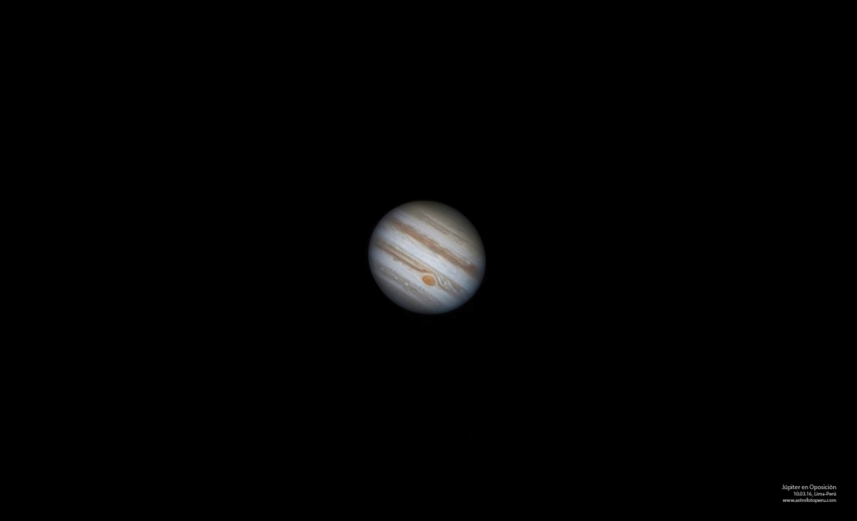 Júpiter en Oposición - 10-03-16 - Lima - astrofotoperu