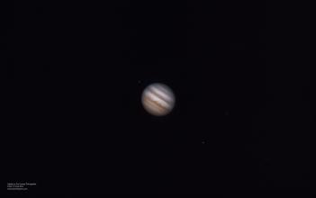Júpiter el 24.02.17, a las 12:55 am, desde Lima-Perú
