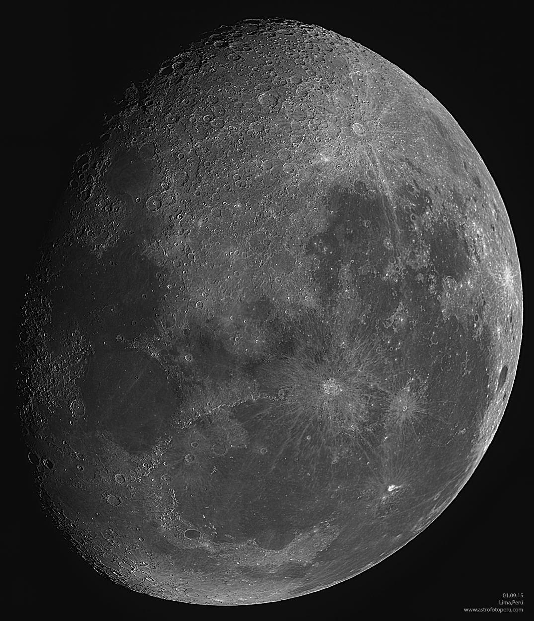 Luna - 01.09.16 - Lima-Perú - astrofotoperu