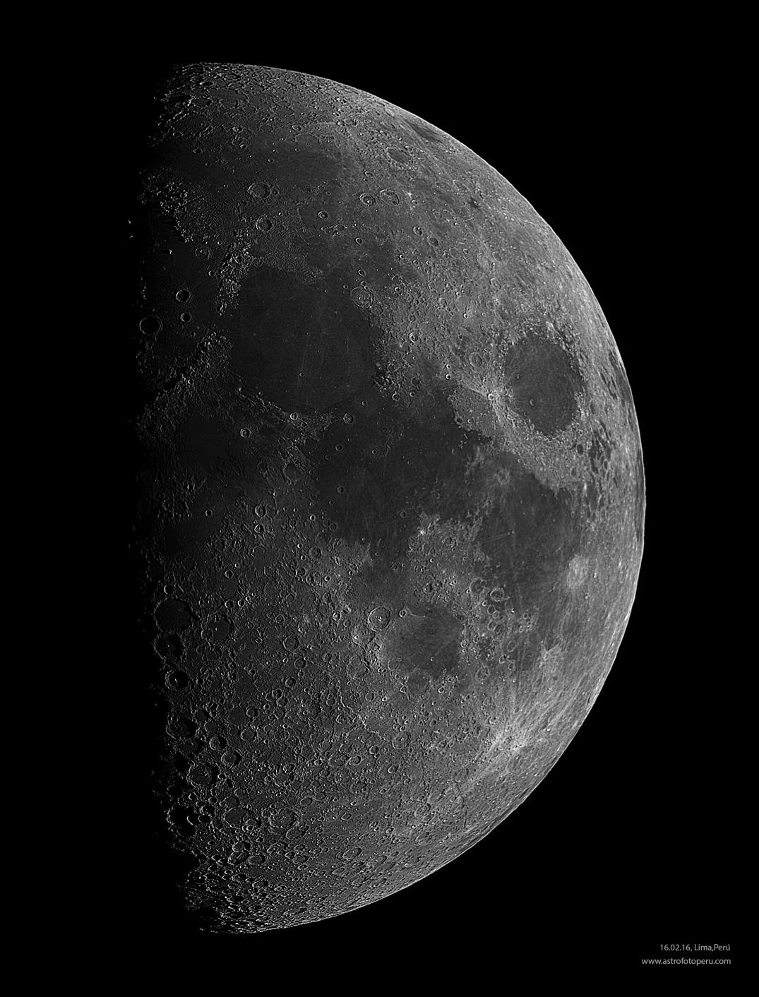 Luna - 16.02.16 - Lima - astrofotoperu