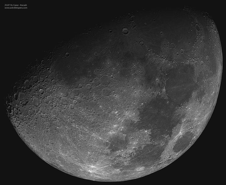Luna - 25.07.15 - Caraz-Ancash-Perú - astrofotoperu