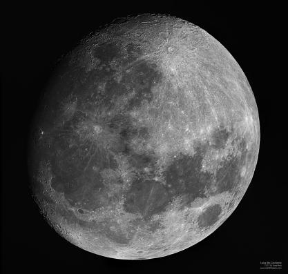 Luna - 4to Creciente - 12.11.16 - 945 mm