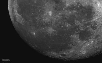 Luna - Chosica - 04.07.15 - astrofotoperu