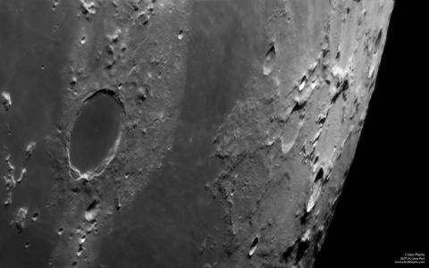 Luna - Cráter Platón