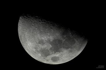4to Creciente - Lima, Perú - Samsung NX-1000 - astrofotoperu