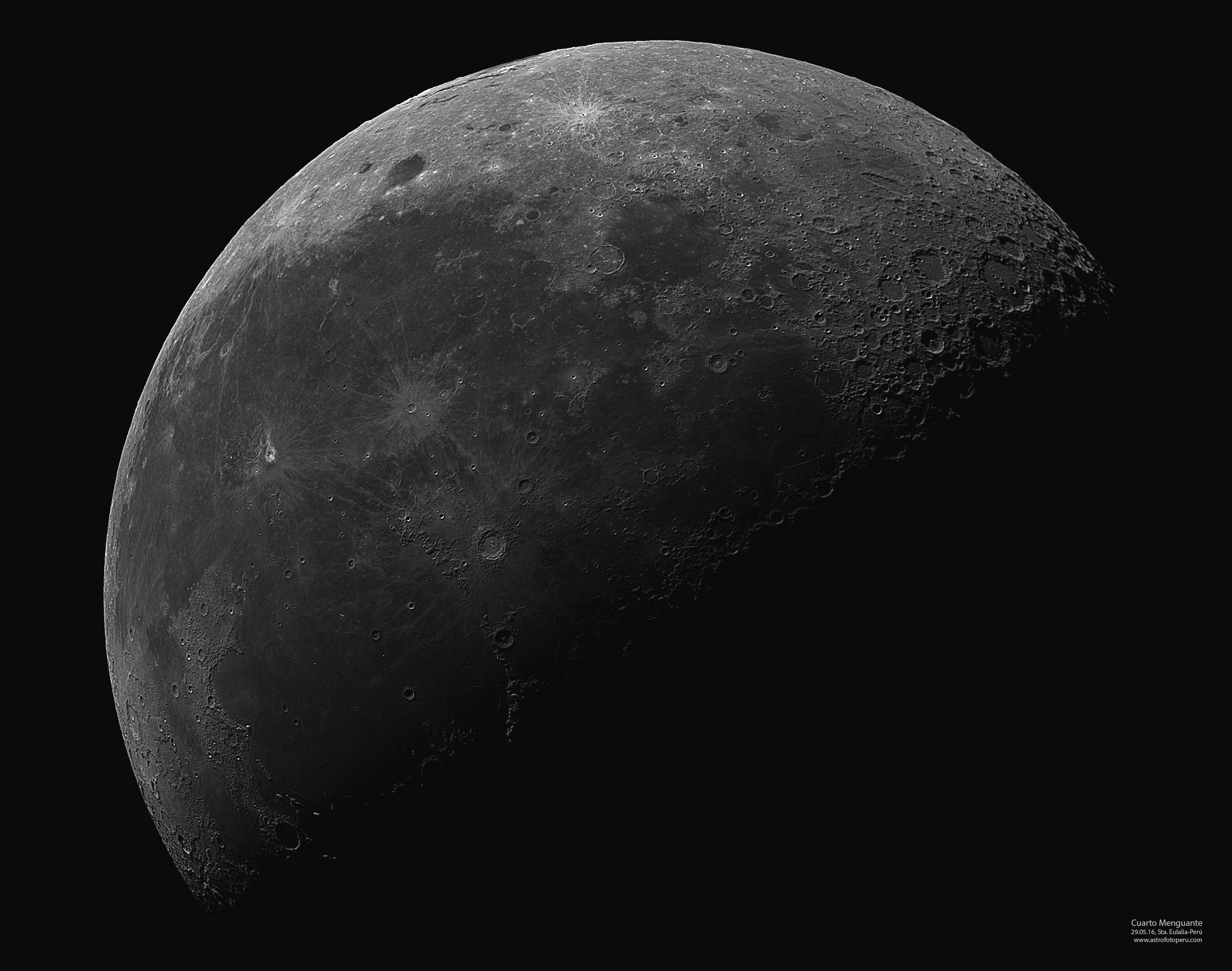 Luna – Cuarto Menguante – 29.05.16 – Sta Eulalia-Perú ...