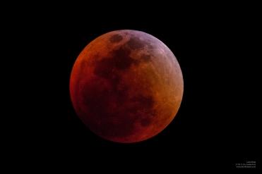 Eclipse Lunar Total - Sta. Eulalia, Perú
