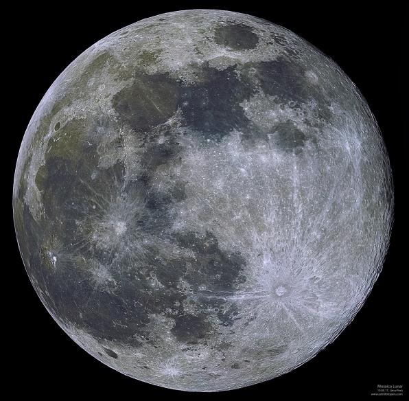 Mosaico Lunar - 10.05.17 - astrofotoperu