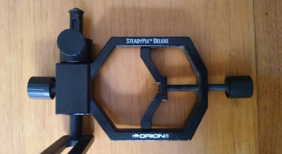 Orion Steady Pix - Adaptador para colocar una cámara.