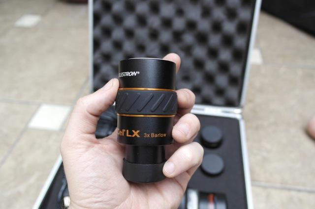 Equipo - Oculares XCel-LX - Barlow 3x