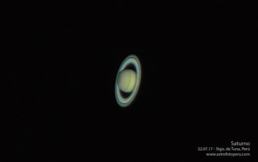 Saturno - 22.07.17 - Imagen 2 - astrofotoperu
