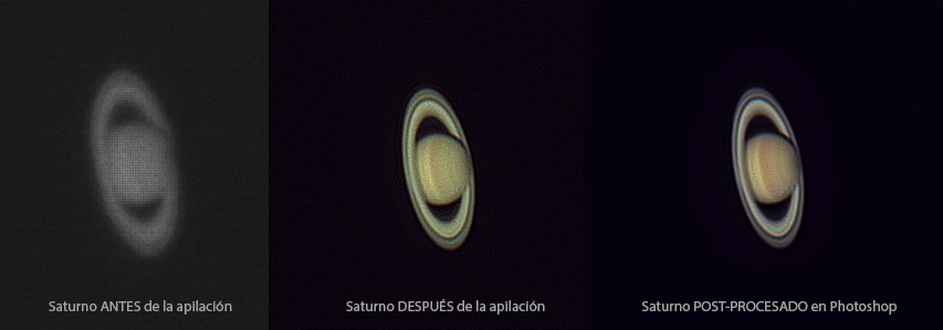 Saturno Antes y Despues