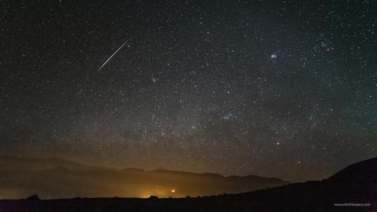 Lluvia de Estrellas de Perseidas #1 - 11.08.16 - Stgo. de Tuna