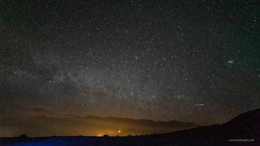 Lluvia de Estrellas de Perseidas #2 - 11.08.16 - Stgo. de Tuna