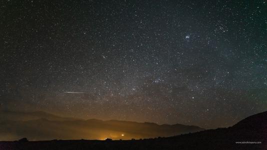 Lluvia de Estrellas de Perseidas #5 - 11.08.16 - Stgo. de Tuna