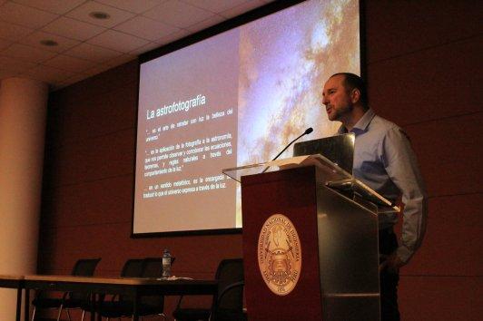 Participación como Expositor con mi charla sobre Astrofotografía en el Perú - 3er Workshop Internacional de Astronomía en los Andres