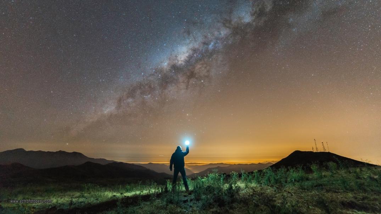 Panorama - Vía Láctea - astrofotoperu - Reproceso 2020